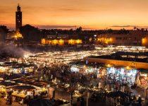 Marokko - Djmaa el Fna Marrakech