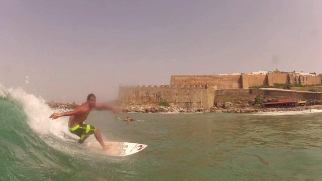 Surfen in Rabat